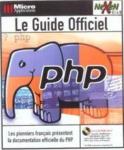 Le Guide Officiel Php - Intérieur - Format classique