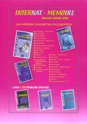Gynécologie obstétrique (édition 2006-2007) - 4ème de couverture - Format classique