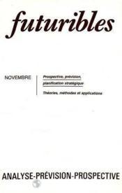 Futuribles N.71 Novembre 1983 - Couverture - Format classique