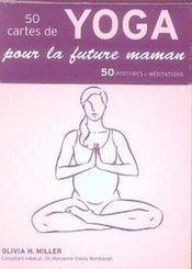 Coffret 50 cartes de yoga pour la future maman - Intérieur - Format classique