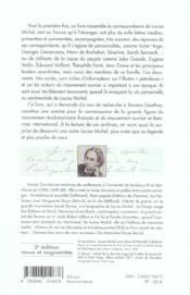 Je vous écris de ma nuit ; correspondance 1850-1904 - 4ème de couverture - Format classique