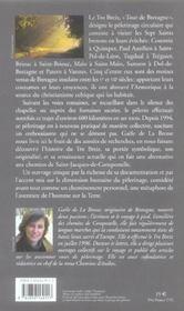 Tro breiz, les chemins du paradis ; pélerinage des sept saints de bretagne - 4ème de couverture - Format classique