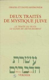 Deux Traites De Mystique Juive - Couverture - Format classique
