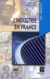 L'industrie en France (édition 2007) - Intérieur - Format classique