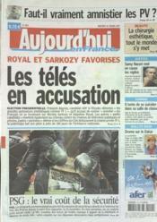 Aujourd'Hui En France N°1863 du 10/01/2007 - Couverture - Format classique