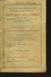 Vie Et Oeuvres Spirituelles De Saint Jean De La Croix - Tome Premier - Couverture - Format classique
