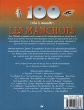 100 Infos A Connaitre ; Les Manchots - 4ème de couverture - Format classique