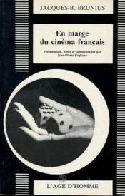 En Marge Du Cinema Francais - Couverture - Format classique