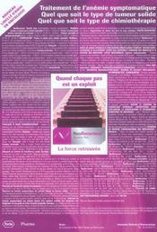 Module X ; Cancerologie Onco-Hematologie - 4ème de couverture - Format classique