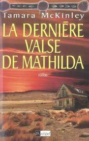 La derniere valse de mathilda - Intérieur - Format classique