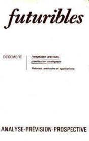 Futuribles N.72 Decembre 1983 - Couverture - Format classique