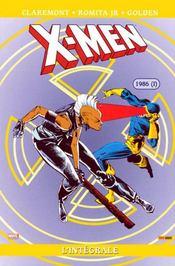 X-men ; integrale t.12 ; 1986 t.1 - Intérieur - Format classique