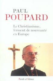 Christianisme Ferment De Nouveau En Europe - Intérieur - Format classique