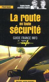 Le guide de la securite routiere - Intérieur - Format classique