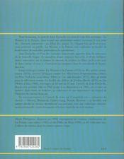 Jean Eustache - 4ème de couverture - Format classique