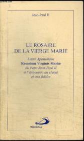 Rosaire De La Vierge Marie (Le) - Couverture - Format classique