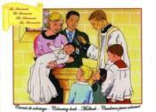 Carnet de coloriage ; les sacrements - Couverture - Format classique