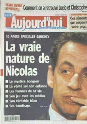 Aujourd'Hui En France N°1865 du 12/01/2007 - Couverture - Format classique