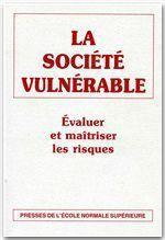 La société vulnérable - Couverture - Format classique