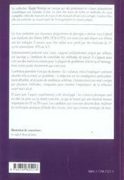 Électrocinétique MPSI-PCSI-PTSI (exercices corrigés) - 4ème de couverture - Format classique