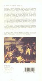 Place A Monsieur Larrey - 4ème de couverture - Format classique