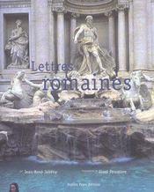 Lettres Romaines - Intérieur - Format classique