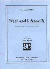 Week-end a deauville ; comedie-vaudeville en 4 actes - Couverture - Format classique