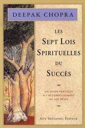 Les sept lois spirituelles du succès - Intérieur - Format classique