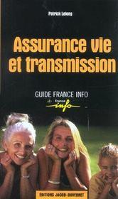 Assurance vie et transmission - Intérieur - Format classique