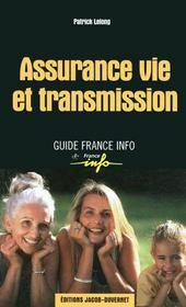 Assurance vie et transmission - Couverture - Format classique