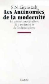 Antinomies de la modernite (les) - Couverture - Format classique