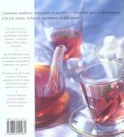 Thes Et Tisanes - 4ème de couverture - Format classique