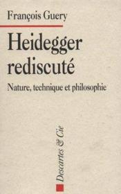 Heidegger Rediscute - Couverture - Format classique