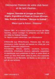 Dictionnaire historique des clubs de football français t.1 ; Abbeville -Montpellier - 4ème de couverture - Format classique
