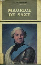 Maurice De Saxe. 1696-1750. - Couverture - Format classique