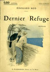 Dernier Refuge. Collection : Select Collection N° 11 - Couverture - Format classique