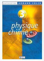 Physique Chimie 3eme 99 Eleve Colin  - Vento