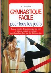 Gymnastique Facile Pour Tous Les Jours - Intérieur - Format classique