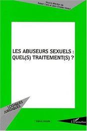 Les abuseurs sexuels : quel(s) traitement(s) ? - Intérieur - Format classique
