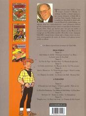Chick Bill ; intégrale t.5 - 4ème de couverture - Format classique