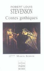 Contes Gothiques - Intérieur - Format classique