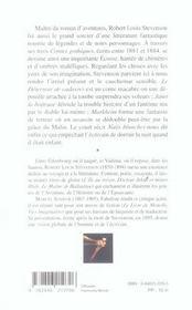 Contes Gothiques - 4ème de couverture - Format classique