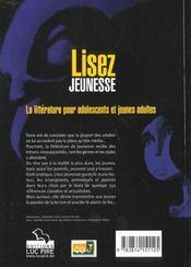 Lisez Jeunesse ; La Litterature Pour Adolescents Et Jeunes Adultes - 4ème de couverture - Format classique