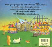 A La Fete Foraine - 4ème de couverture - Format classique
