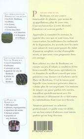 Bordeaux : Vins Et Negoce - 4ème de couverture - Format classique