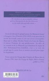 La cour du Maroc - 4ème de couverture - Format classique