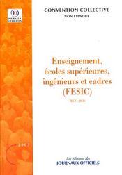 Enseignement, écoles supérieures, ingénieurs et cadres ; brochure 3345 - Intérieur - Format classique