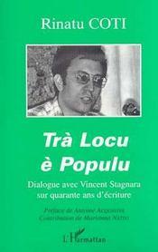 Tra Locu E Populu ; Dialogue Avec Vincent Stagnara Sur Quarante Ans D'Ecriture - Intérieur - Format classique