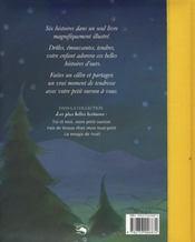 Les Plus Belles Histoires/Toi Et Moi Mon Petit Ourson - 4ème de couverture - Format classique