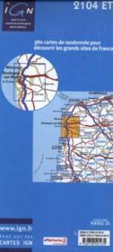 Boulogne-sur-Mer, forêts du boulonnais, pnr des Caps et marais d'Opale ; 2104 ET - 4ème de couverture - Format classique